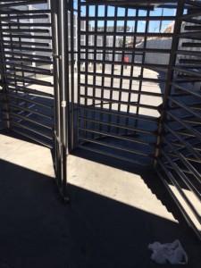 USA-Mexico border for pedestrians