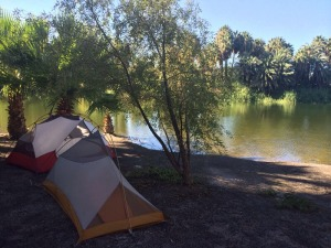 Campground in San Ignacio