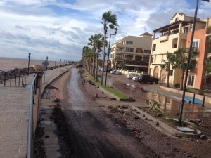 Aftermath of hurricane Odile