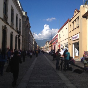 Oaxaca City - this could just as well be an European city