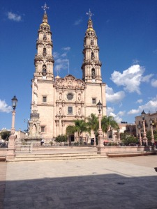 The grand church at San Juan de Los Lagos