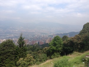 Medellin from the top