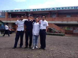 At I.E.R.D. San Bernard Colegio