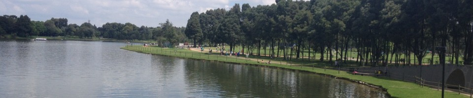 Simon Bolivar park in Bogota