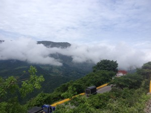 Downhill ride from Bogota