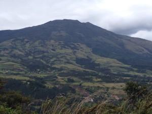 Volcan Galeras near Pasto