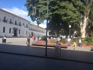 Popayan town centre