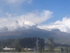This was the best view of Cotopaxi I had