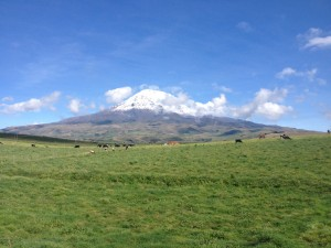 Some volcano near Riobambo