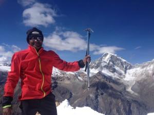 On top of Urus Este