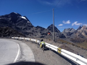 On top of the second pass at 4690m