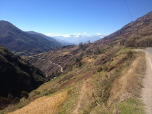 The downhill to Huanuco from 4000m
