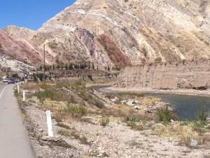 The mining town, La Oroya