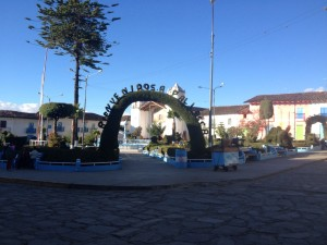Plaza de Armas at Pallasca