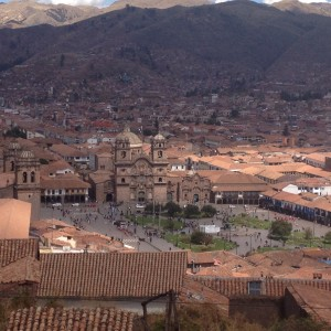 Cusco town centre