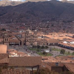 Cusco town centre