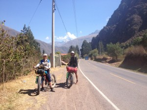 Fatbikers in the Sacred valley