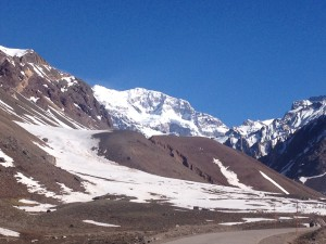 The mighty Aconcagua