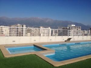 Urban life in Santiago