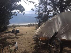 Wild camping near El Morrar