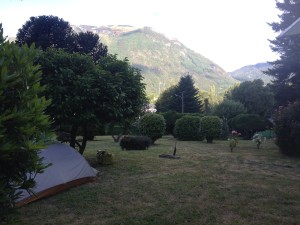Camping in Curarrehue