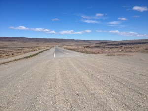 The end of gravel road met with some great sigh of relief